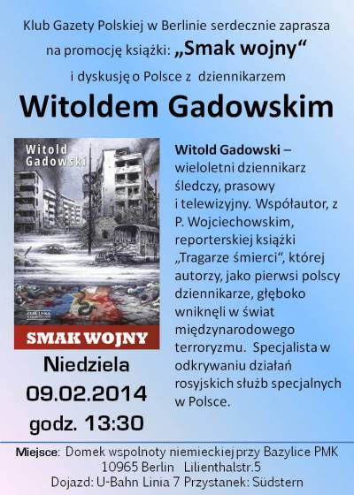 1_Witold Gadowski_plakat