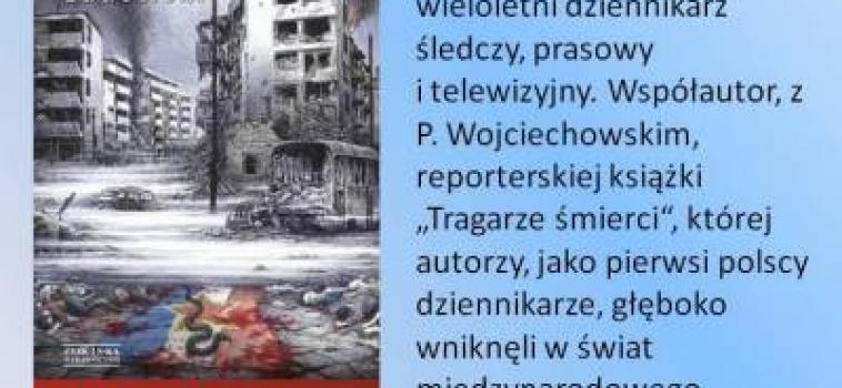 """9 lutego 2014 godz.13:30, KGP Berlin – Witold Gadowski promocja książki """"Smak wojny"""""""