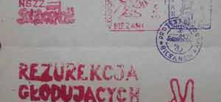 Czwartek (19 lutego) godz.10:15 Konferencja – Protest głodowy w Bieżanowie (odwołana relacja)