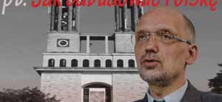 """Wtorek (19 maja) godz.16:00 Wykład prof. Andrzeja Nowaka z cyklu: """"Jak odbudować Polskę""""."""