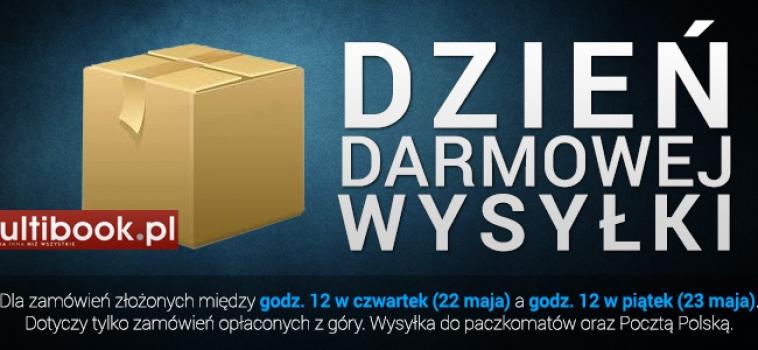 Księgarnia internetowa Multibook.pl do piątku do godz. 12.00 wysyła książki na terenie Polski na swój koszt