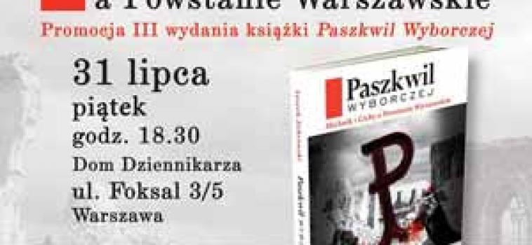 Piatek (31 lipca ) godz.18:30 Marek Jan Chodakiewicz, Leszek Żebrowski, Stanisław Michalkiewicz