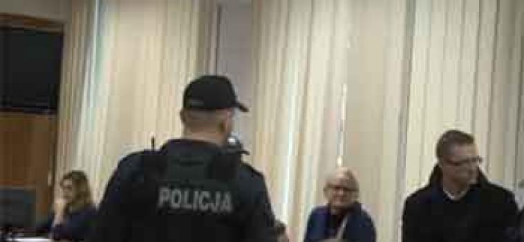 Środa godz.10:00 Sprawa przeciwko zatrzymanym w PKW